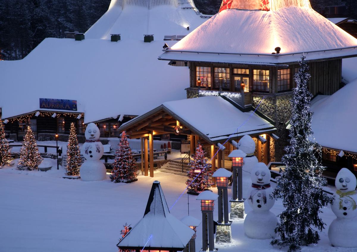 Лапландия фото зимой