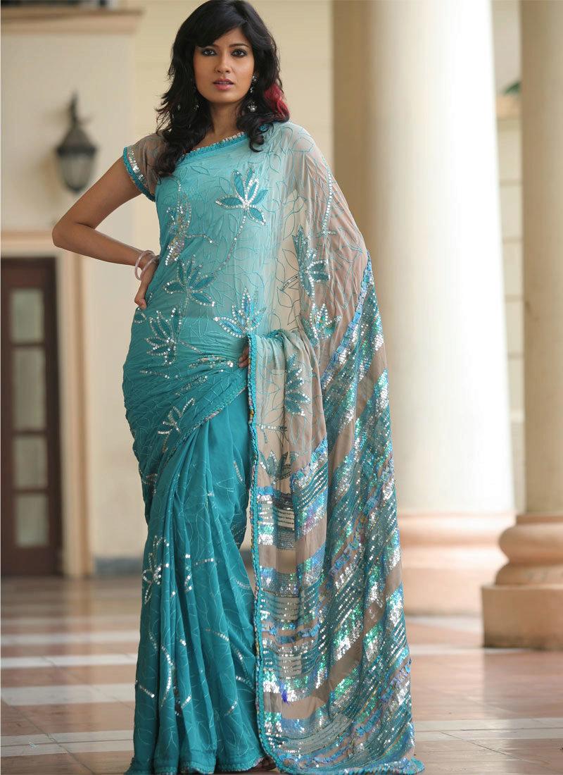 индийские платья сари фото уже
