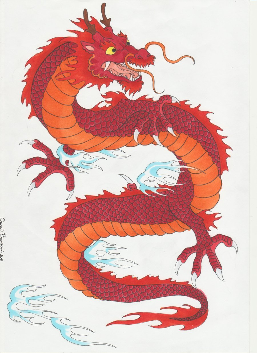Asian style dragon pics — photo 1