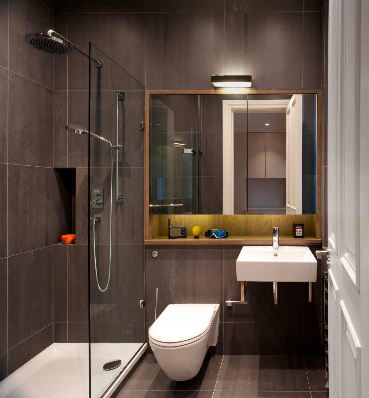 Small Bathroom Renovations amp Designs A lucky minority of the population has the pleasure and luxury of a large bathroom with enough room for double vanity basins
