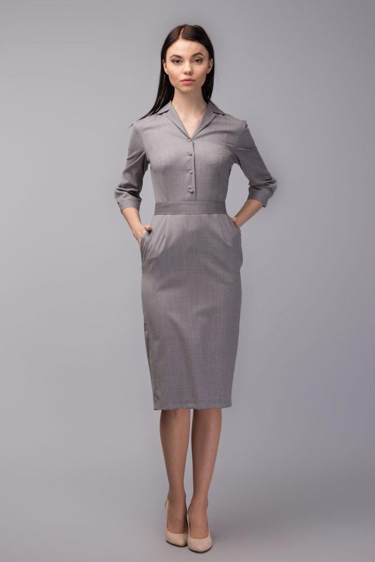 Платья для офиса в картинках