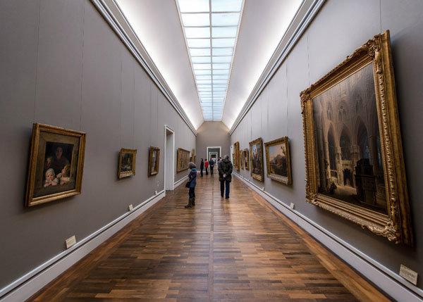 Описание картинки в музее