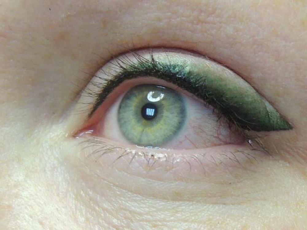 длина цветной татуаж глаз фото словами