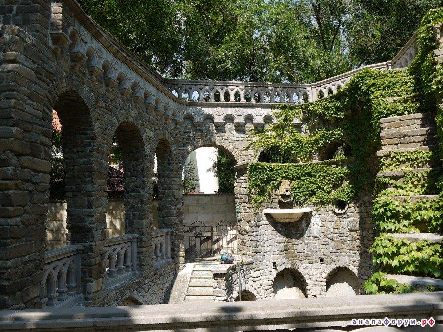 Анапа старый парк фото