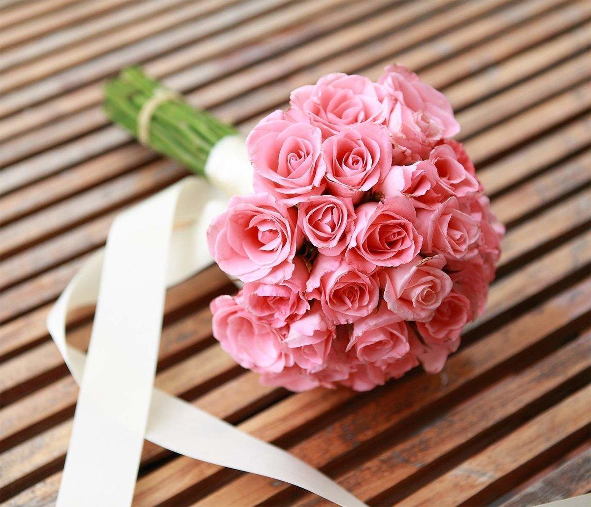 Букет, букет невесты розового цвета