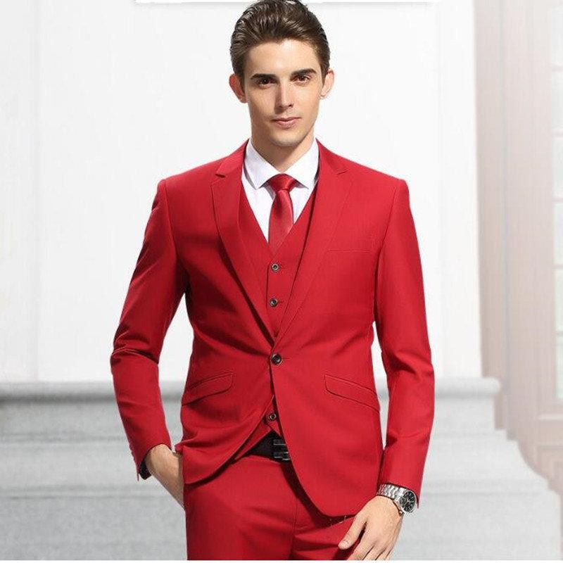 профессиональный красные костюмы мужские фото ряде