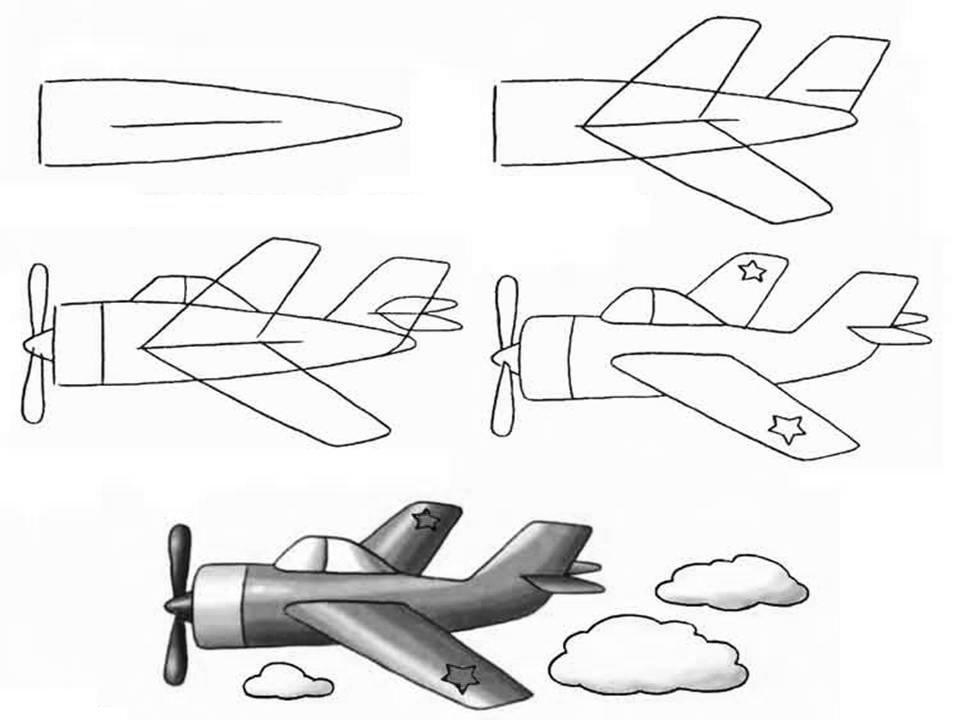Военный самолет для детей картинки с пояснением распечатать