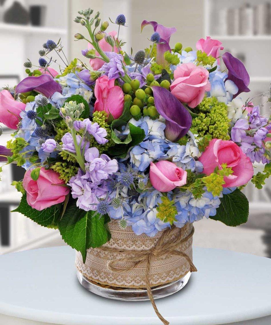 Красивый цветы букет цветов на день рождение