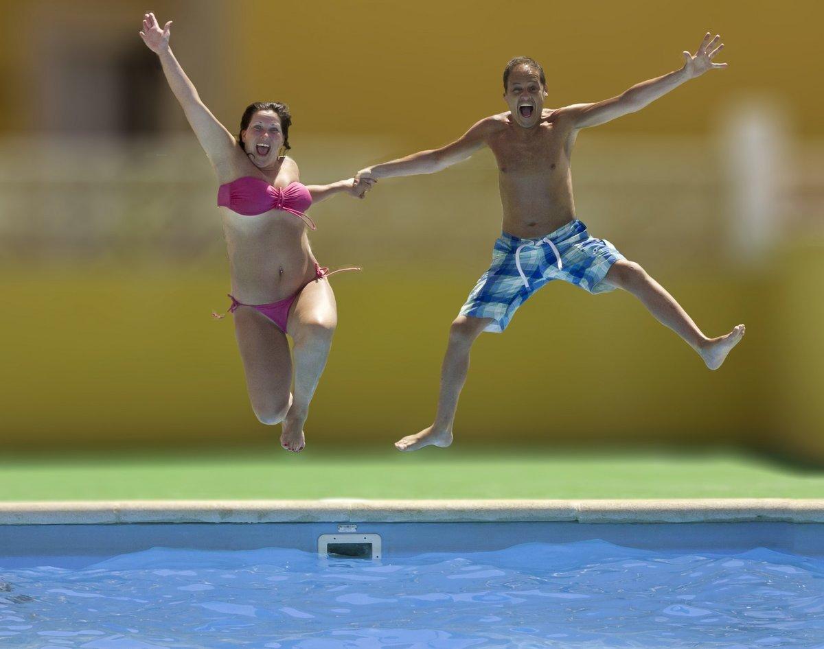 стиле картинки как прыгают в бассейн данной странице представлены