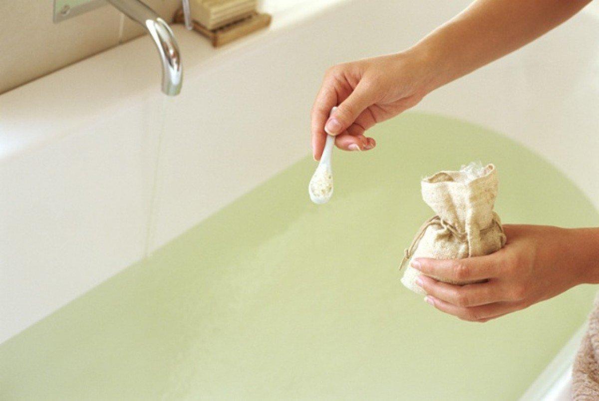 ванная с морской солью для похудения