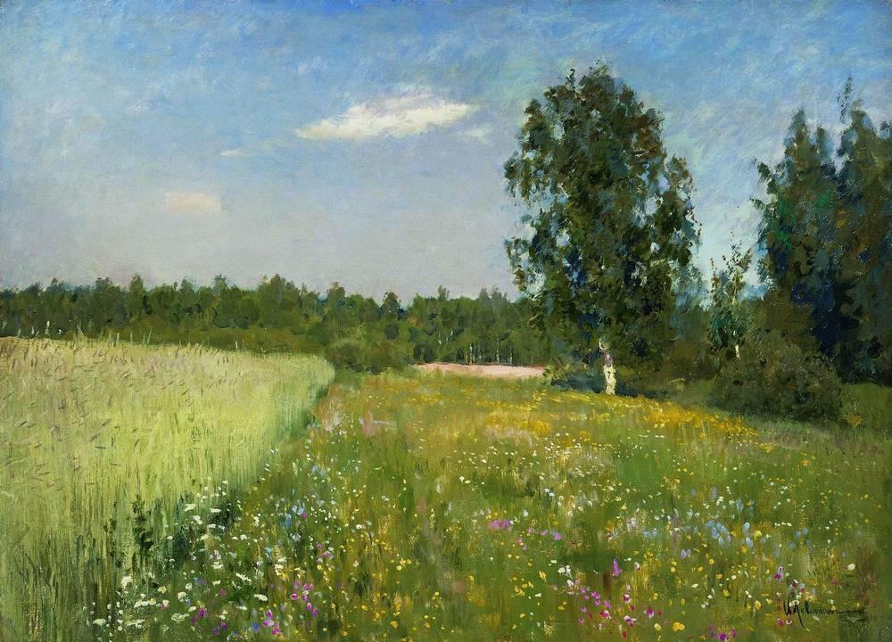 Картинки летних пейзажей русских художников, открытки днем