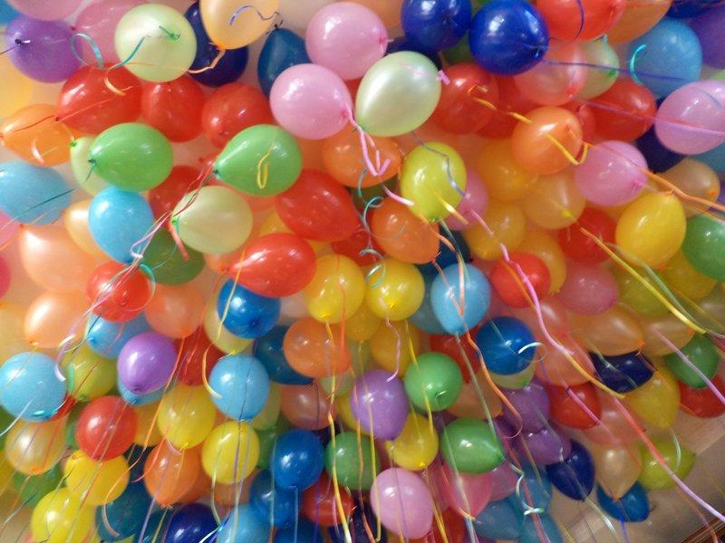 Воздушные шары матовые шары