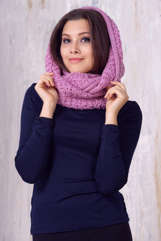 как носить шарф хомут зимой фото фаворит нового