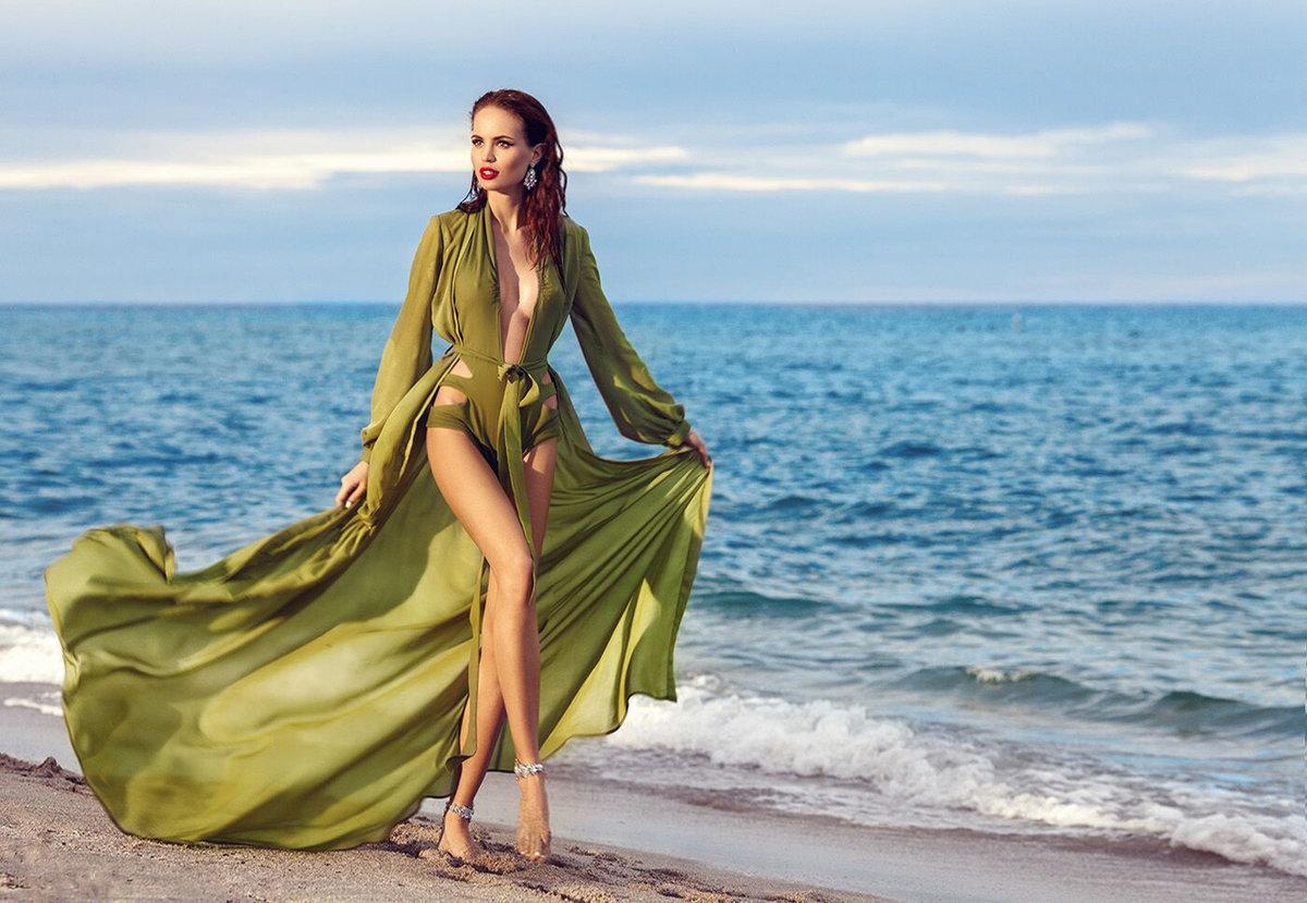 необычным яркие образы для фотосессии на море вкусный