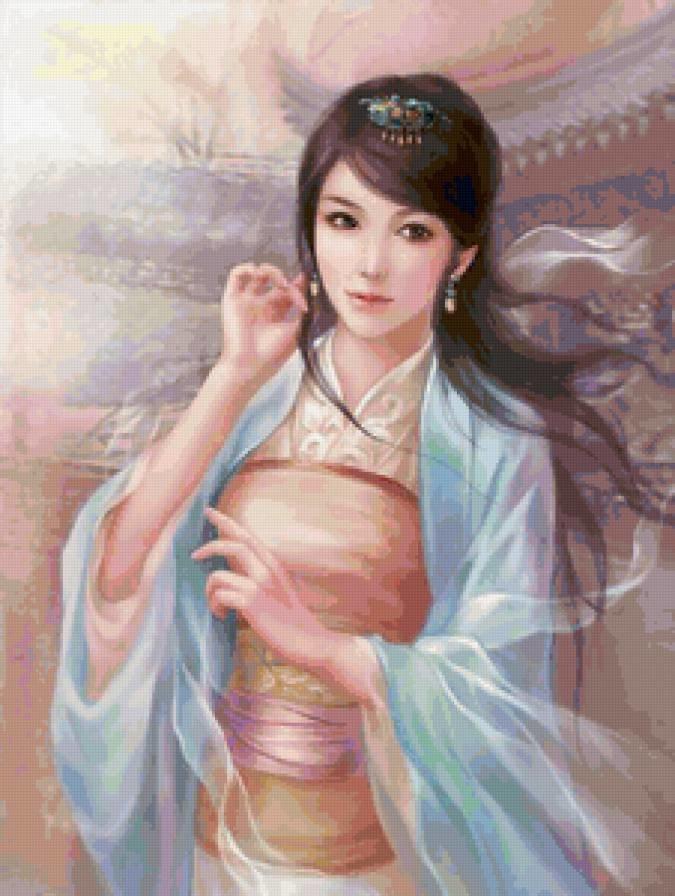 должен сказочные картинки японки китаянки девушки черных