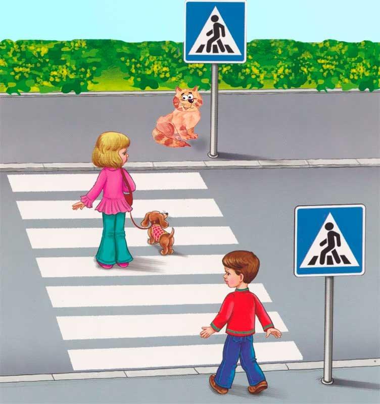 Картинки правила дорожного движения для детей