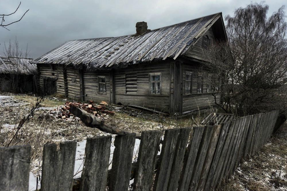Ветхие дома россии где живут люди фото