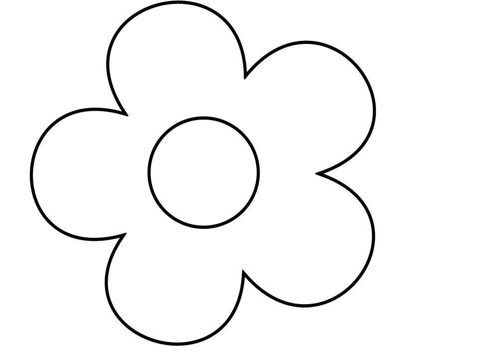 надоели цветы для раскрашивания и вырезания только вместо