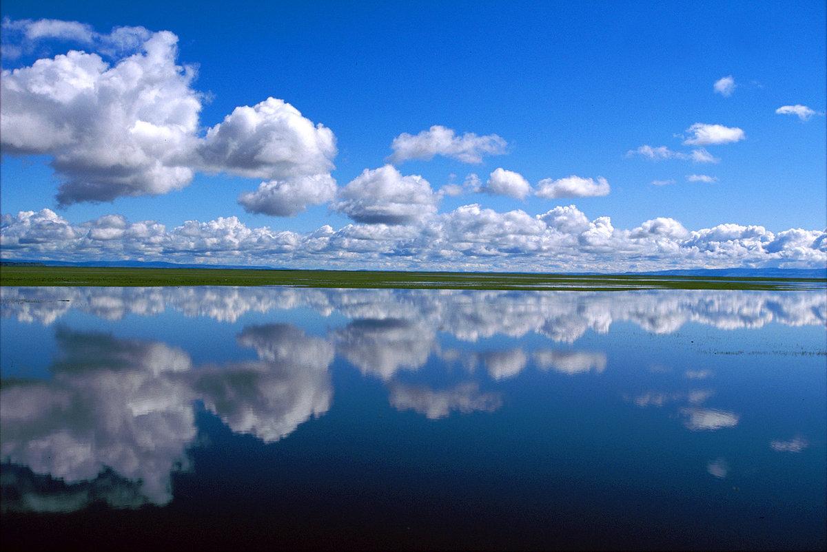 Вода облака небо картинки