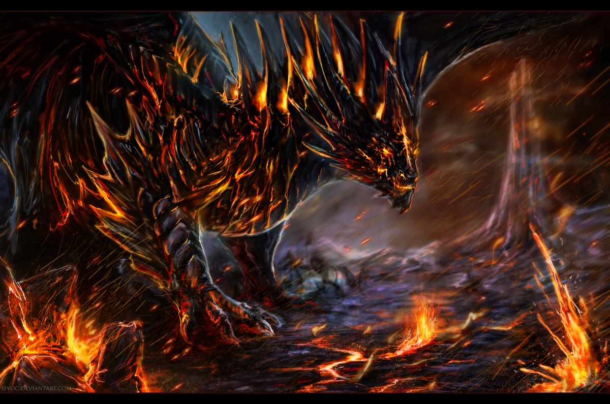 Днем рождения, крутые драконы картинки