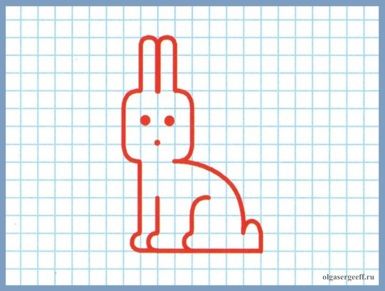 Открытки новым, прикольные рисунки для рисования в тетради в клетку