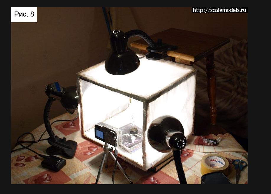 что становящееся самодельный свет для фотографии панорама