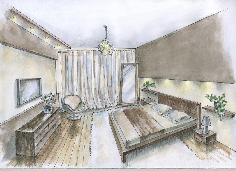 Интерьер спальни в бирюзовых тонах фото росы эксклюзивный
