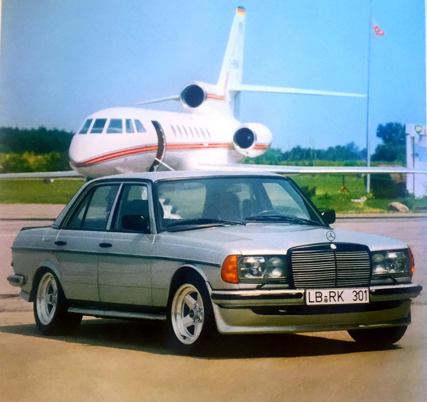 Mercedes Benz W123 V Tyuninge Ot Amg Card From User Nikadark13 In