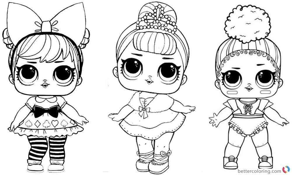 free coloring pages lol dolls | Favorite images — Yandex.Collections