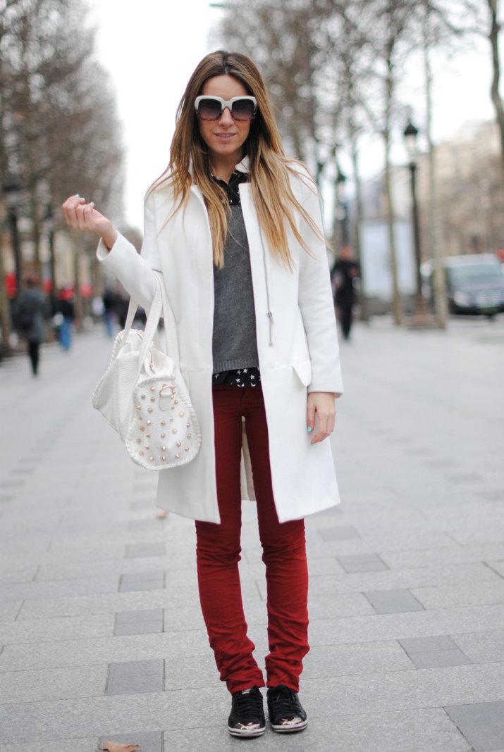 короткое белое пальто с чем носить фото выбрать купить ноутбук