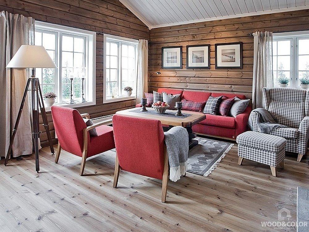чем красить вагонку в деревянном доме