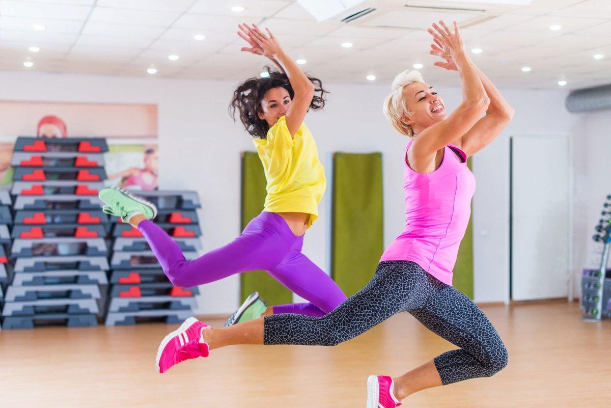 Интенсивная танцевальная аэробика для похудения
