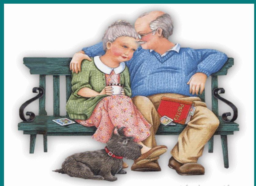 Открытки пожилым супругами, про