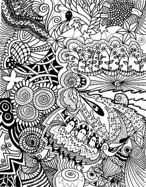 Нарисовать черно белый рисунок оцифрованный следующим образом