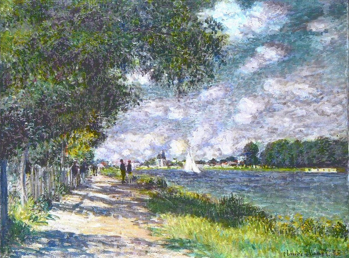 a look at the 1875 impressionist art piece claude monets le basin dargenteuil At the home of impressionist art collector  les cahiers d'art-documents: albert lebourg,  odilon redon and claude monet, including le pont dargenteuil and la.