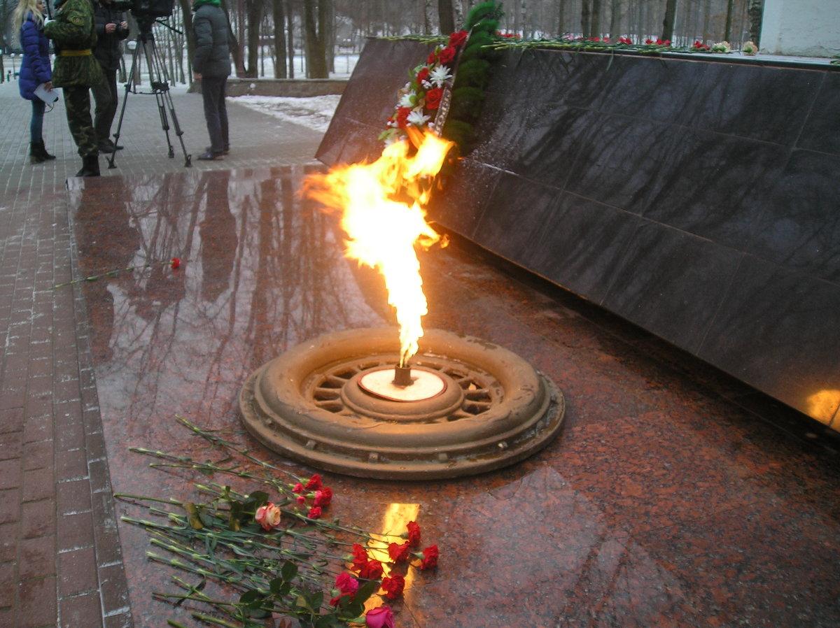 Цветочная на набережной у вечного огня архангельск