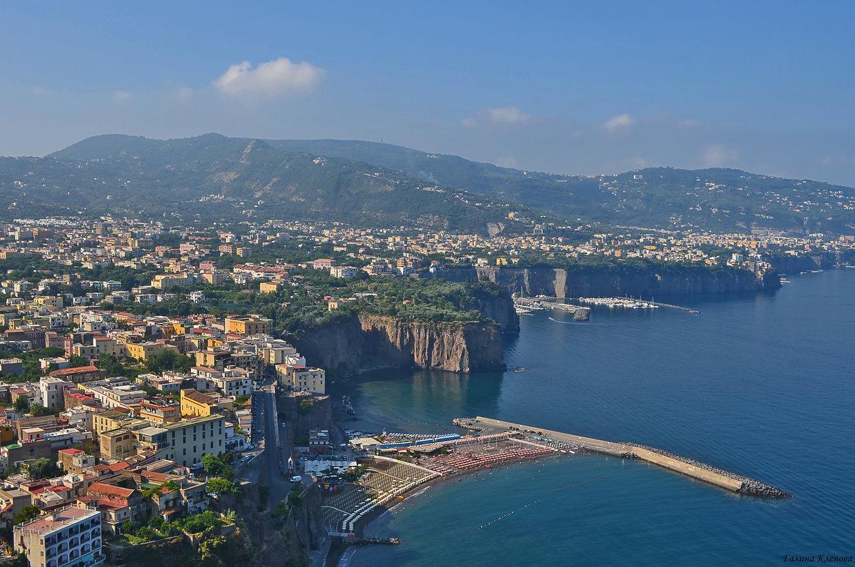 соренто город в италии фото всю историю