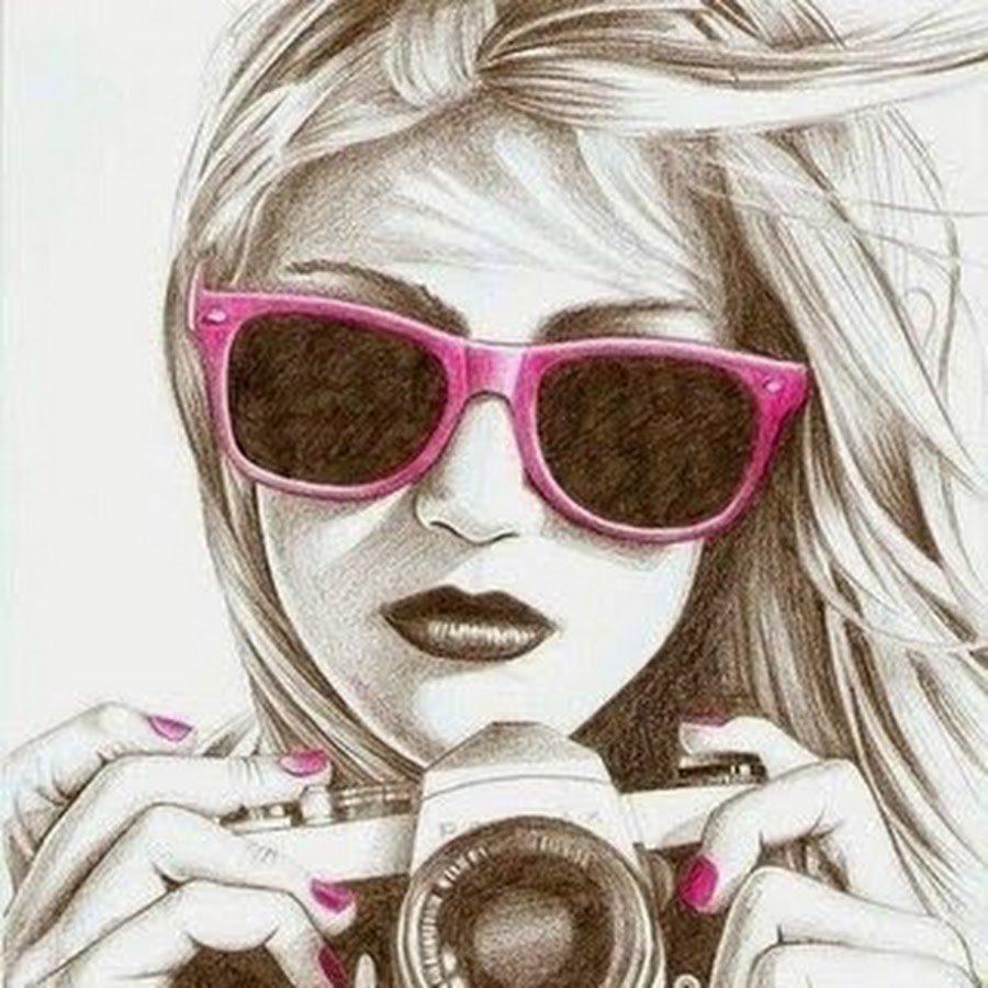 Картинки на аву в вк прикольные для девушек нарисованные