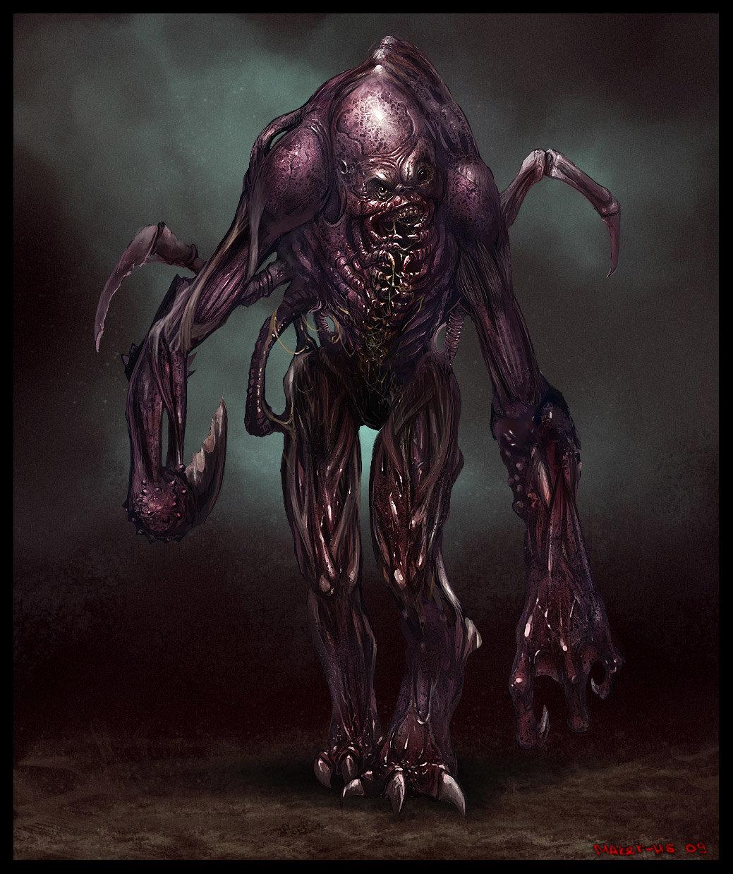 Монстр мутация картинки