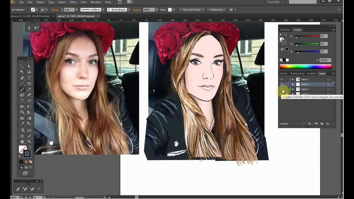 Как сделать графический рисунок фото 562