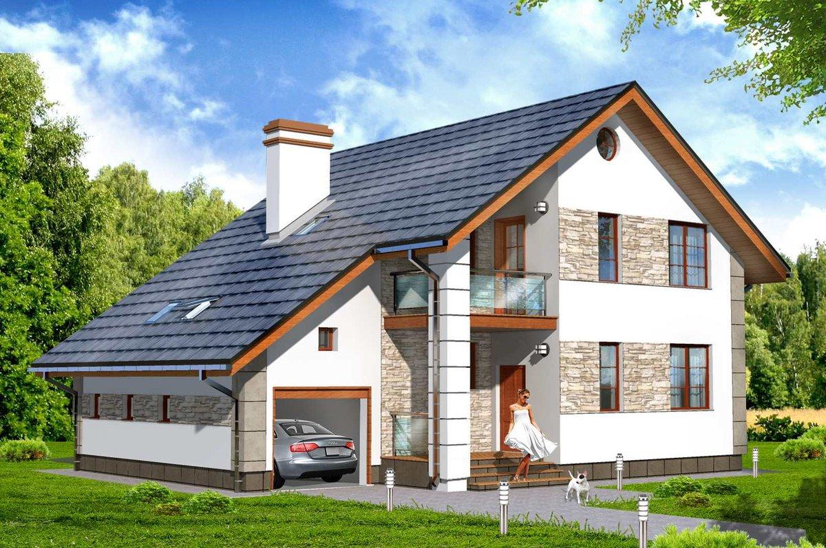 Показать фото проектов домов современных молодых
