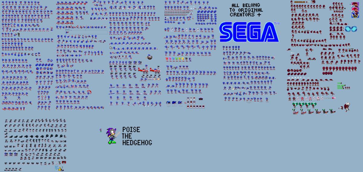 Sonic Exe Sprite Animation