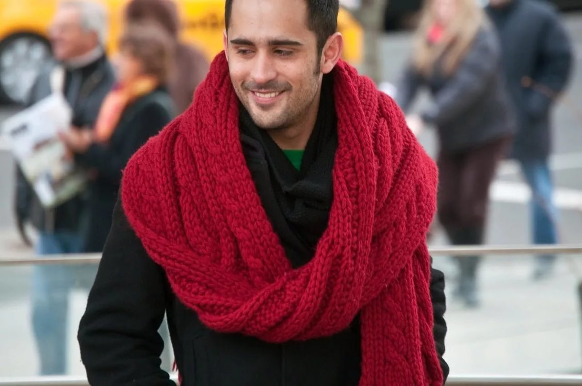 модный шарф картинки доме