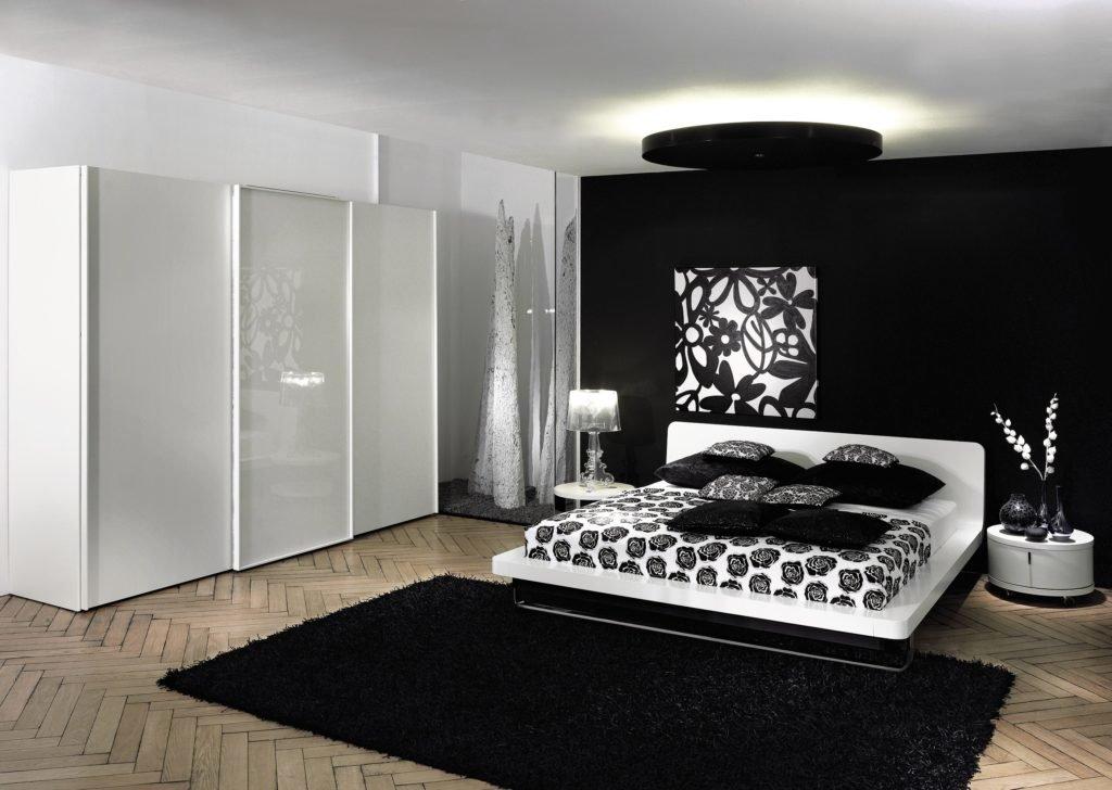 системы спальня в черно белом стиле картинки люди считают себя