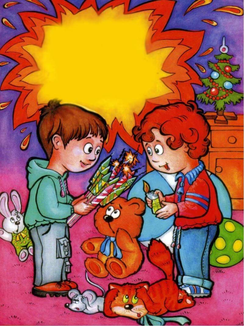 Картинки по пожарной безопасности для детей дошкольного возраста, оформить открытку