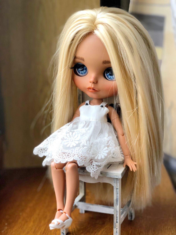 Картинка куклы блондинки
