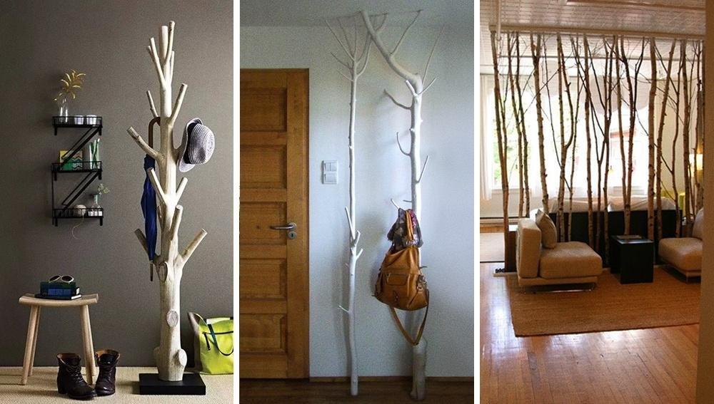 ветки в интерьере квартиры