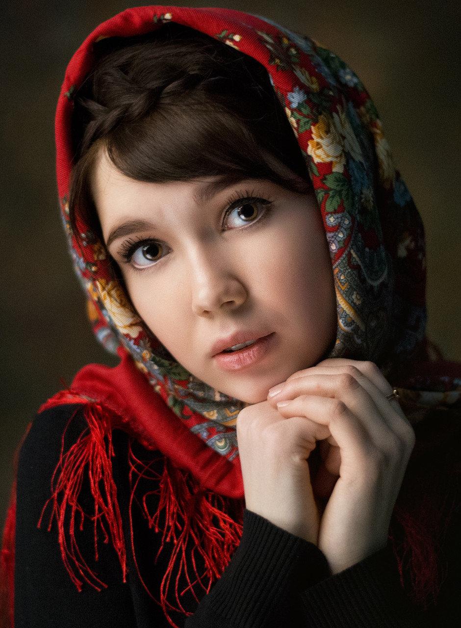 можно попасть интересные женские портреты фото себе