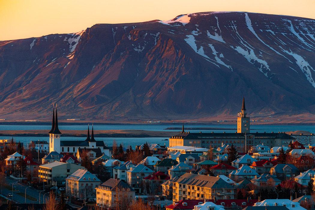 Исландия картинки города, календарь 2019