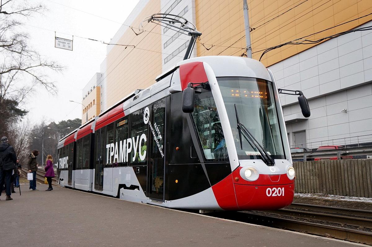 Картинки новых трамваев